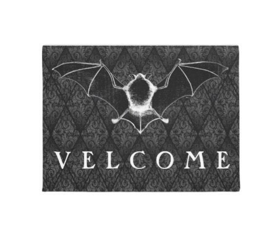 Vampire  Velcome door mat