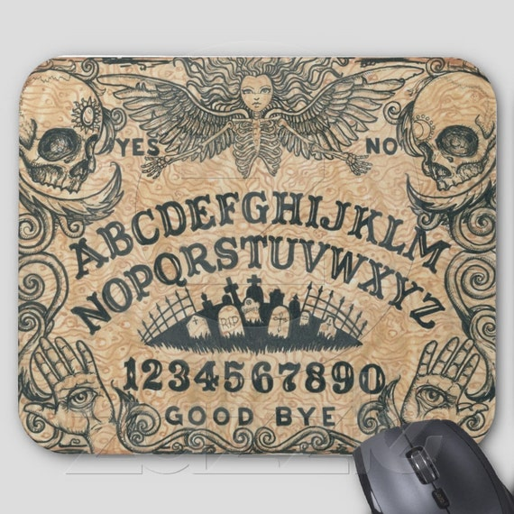Ouija Board Angel Mouse Pad