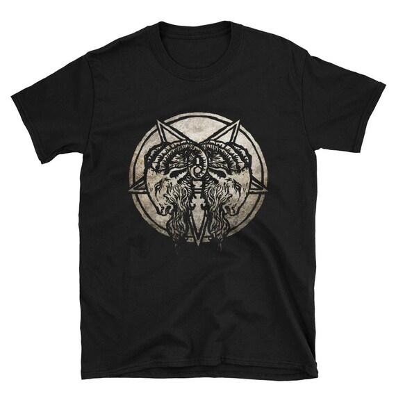 Baphomet Goats Short-Sleeve Unisex T-Shirt