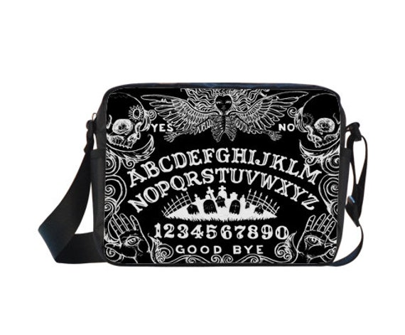 Ouija Board Black Cross-body Nylon Bag