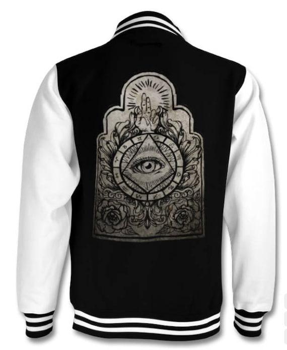 Illuminati Astrology  varsity jacket