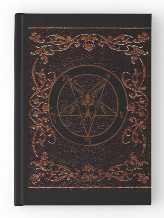 Sigil of Baphomet Spell Book, Journal, Grimoire