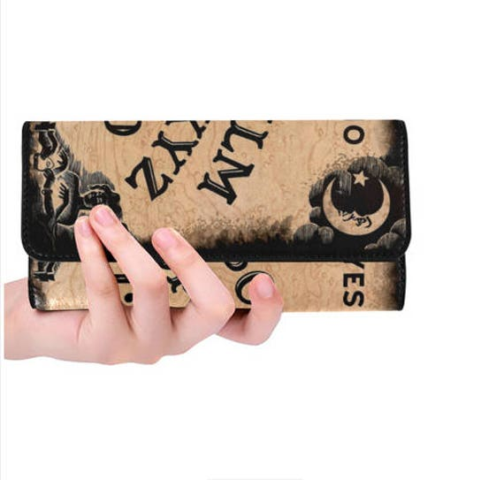 Ouija Board wallet ladies trifold