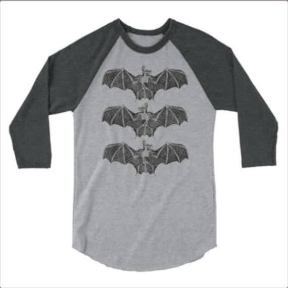 Bat Bones Raglan t shirt