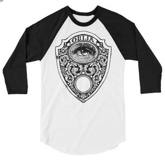 Ouija Planchette Raglan t shirt