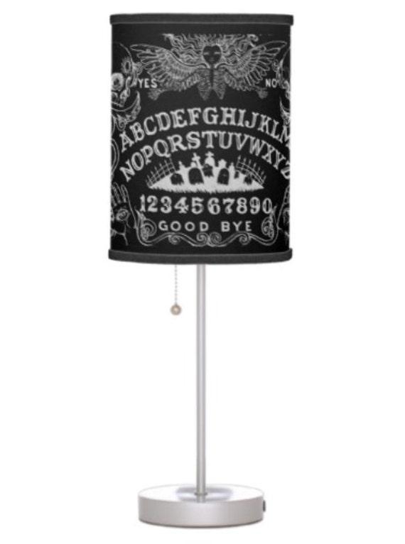 Ouija Board Black lamp