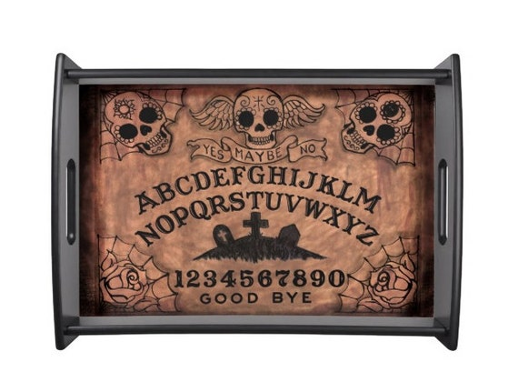 Sugar Skull Ouija Board Serving tray