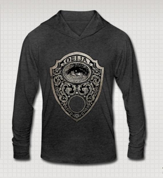 Ouija Planchette Tri-blend Hoodie T shirt