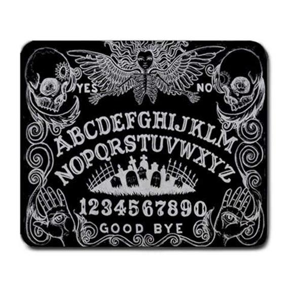 Ouija Board Black Mouse Pad
