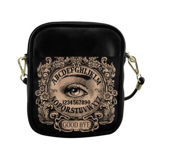 Mystic Eye Ouija shoulder sling purse