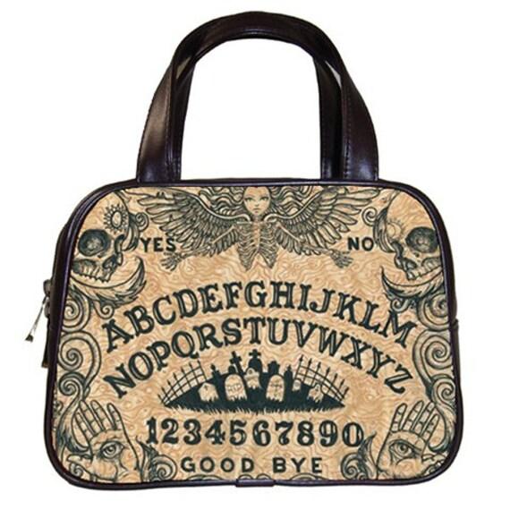 Ouija Board Beige Handbag