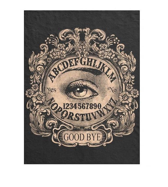 Ouija Mystic Eye fleece blanket