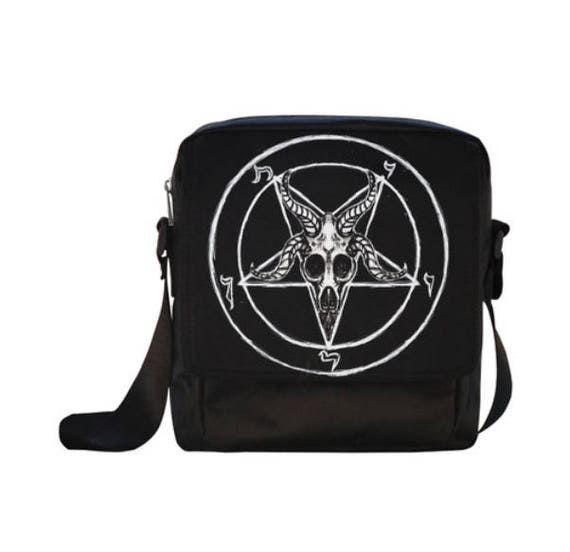 Sigil of Baphomet cross body bag