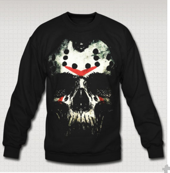 Friday the Thirteenth Jason Skull Sweat Shirt