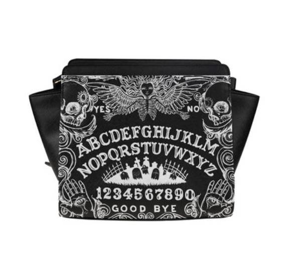Ouija Black Satchel