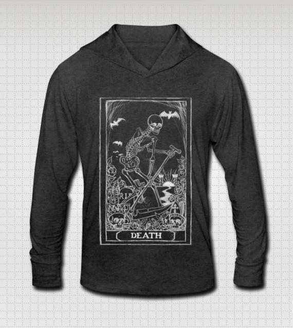 Death card Tri-blend Hoodie T shirt