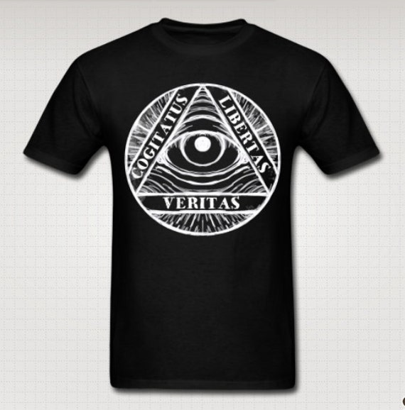 Illuminati Eye T shirt