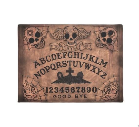 Sugar Skull Ouija Board Welcome Mat