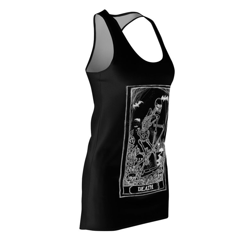 Death Card Tarot Women/'s Cut /& Sew Racerback Dress