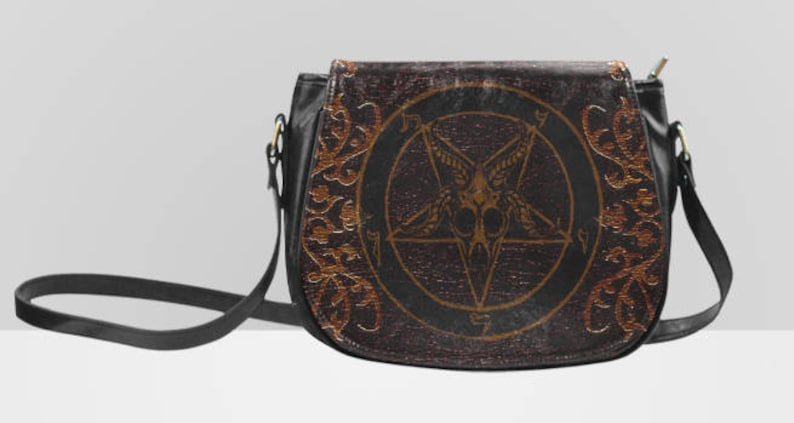 Baphomet Saddle bag
