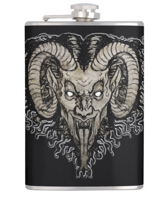 Krampus Nacht  hip flask