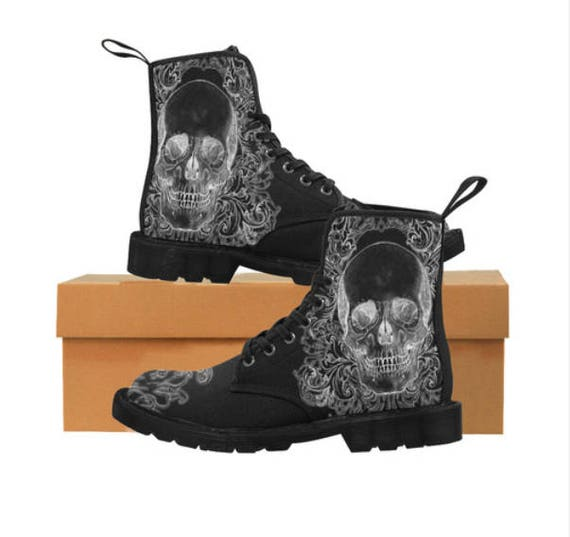 Baroque Skull boots Ladies