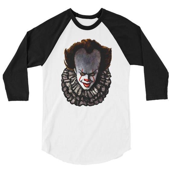 Pennywise 3/4 sleeve raglan shirt