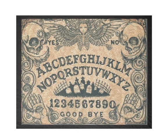 Ouija Board Death Angel fleece blanket