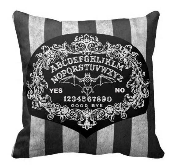 Ouija Board Shabby Chic pillow
