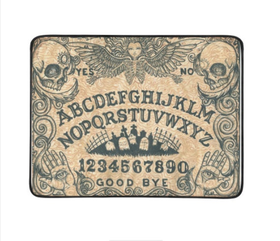 """Ouija Board Beach Blanket 78""""x60"""""""
