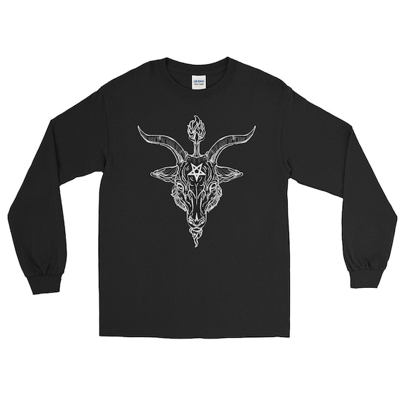 Baphomet Black Phillip Long Sleeve T-Shirt