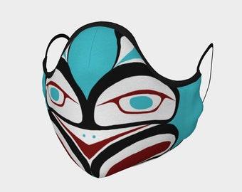 Inner Warrior Pacific Northwest Formline  Face Mask