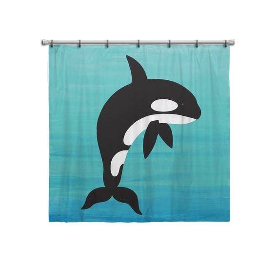 Shower Curtain For Kids Bathroom From Hand Painted Images