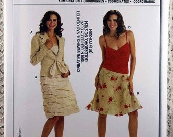0df9ac43 JULY SALE Burda 8053, Misses' Jacket, Skirt and Top Sewing Pattern, Misses'  Size 6 - 18, Misses' Pattern, Uncut