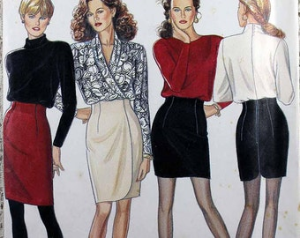 BUTTERICK PATTERN SKIRT VERY EASY MISSES/' or MISSES/' PETITE SIZE 16-22 # B4461