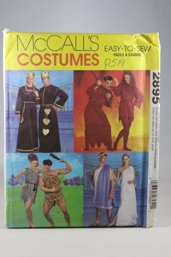 McCall 2895 Kostüm Schnittmuster Misses\' Männer und
