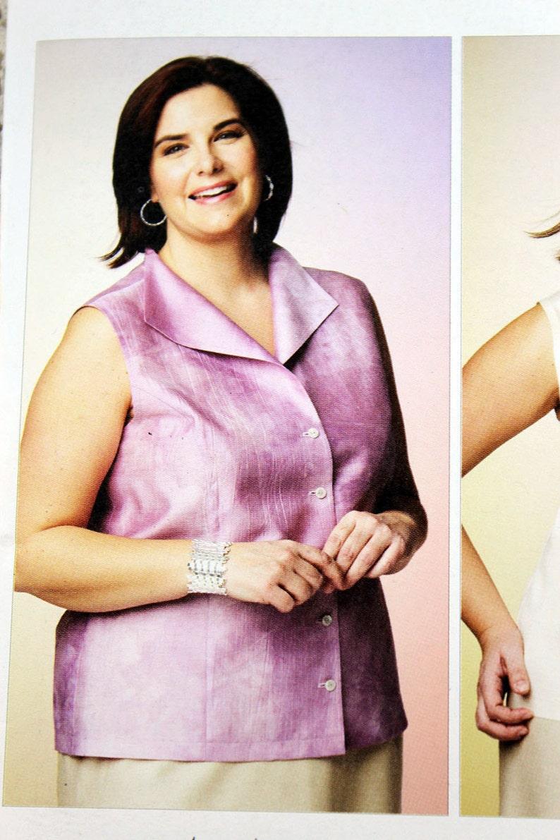 5ceecd3fa5798 Kwik Sew 3865 Women s Blouses Sewing Pattern Sleeveless