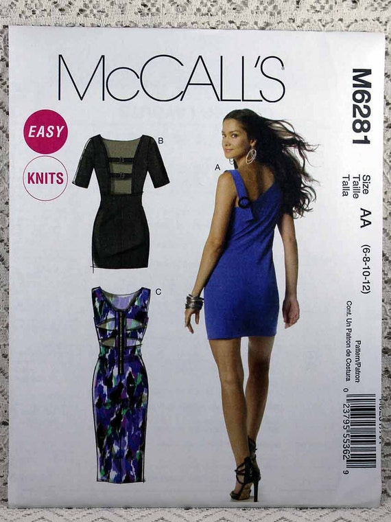 McCall\'s 6281 Misses\' Dress Sewing Pattern Easy