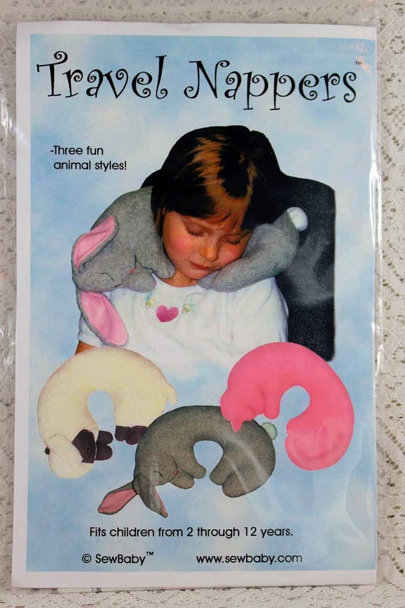 Sew Baby Travel Nappers Sewing Pattern Childs Neck Etsy