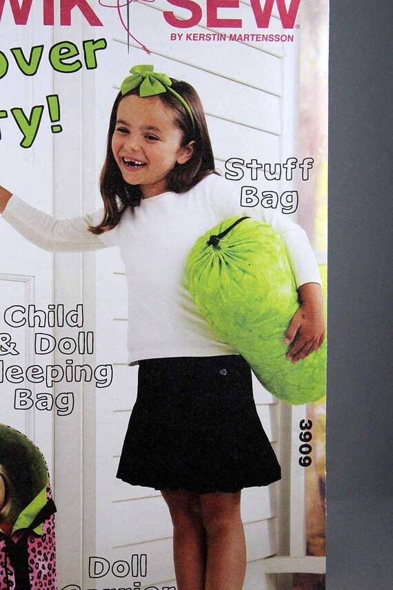 Kwik Nähen 3909 Kind und Schlafsack Puppe Puppe Träger und | Etsy