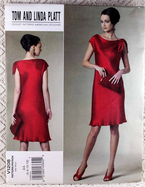df45113148bc Vogue 1208 Misses  Misses  Petite Dress Sewing
