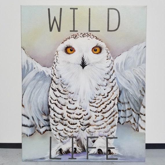Wild Life an original acrylic on canvas