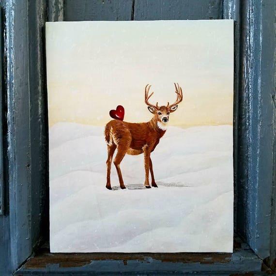 My Dear Heart...original acrylic painting on canvas board