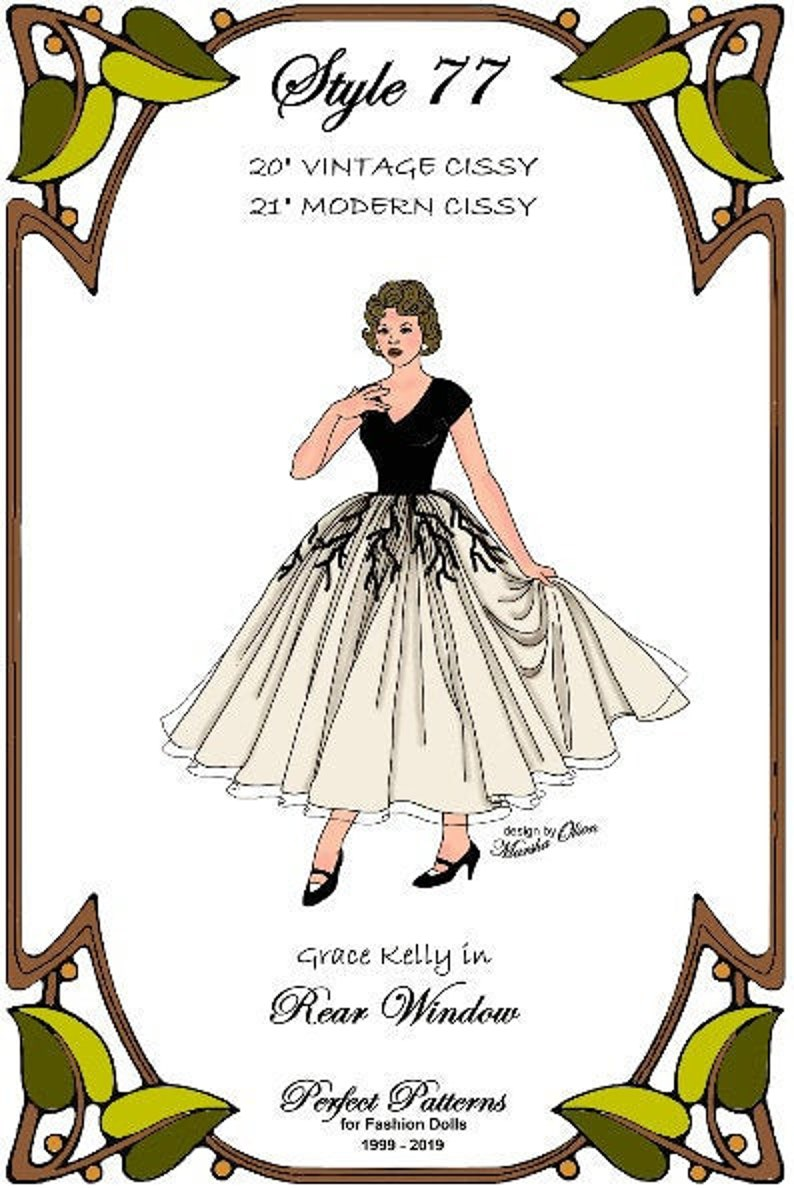 "One Day sewing pattern for the 21/"" Modern Cissy by Madame Alexander"