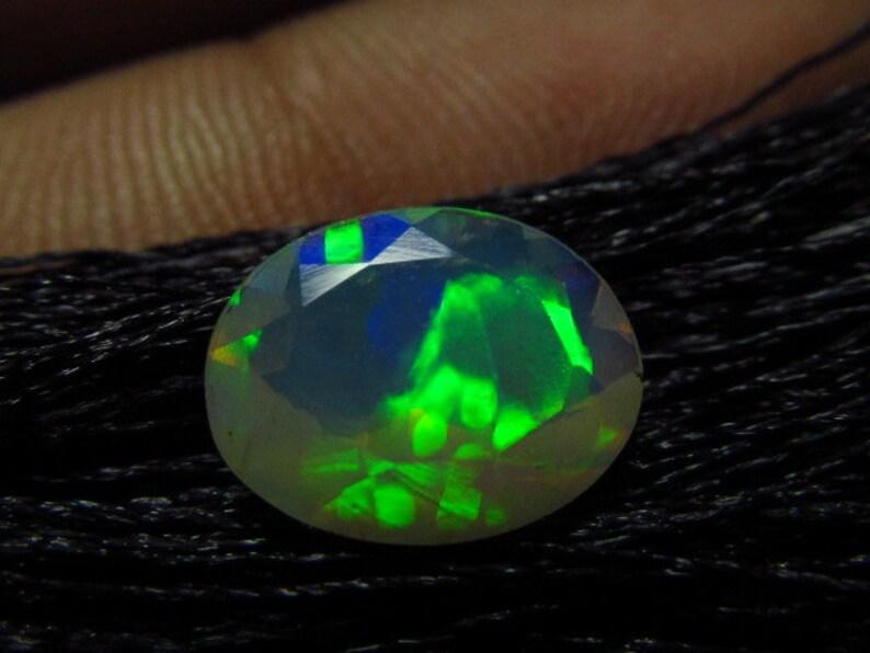 Ethiopian Welo Opal Super Sparkle Awesome Amazing Full Colour Fire AAAAAAAAA 8x10 mm Oval Cut