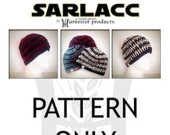 Star Wars Return of the Jedi Sarlacc inspired unisex Crochet Beanie Hat