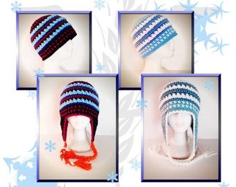 Arendelle Winter FROZEN styled Crochet Beanie Pattern