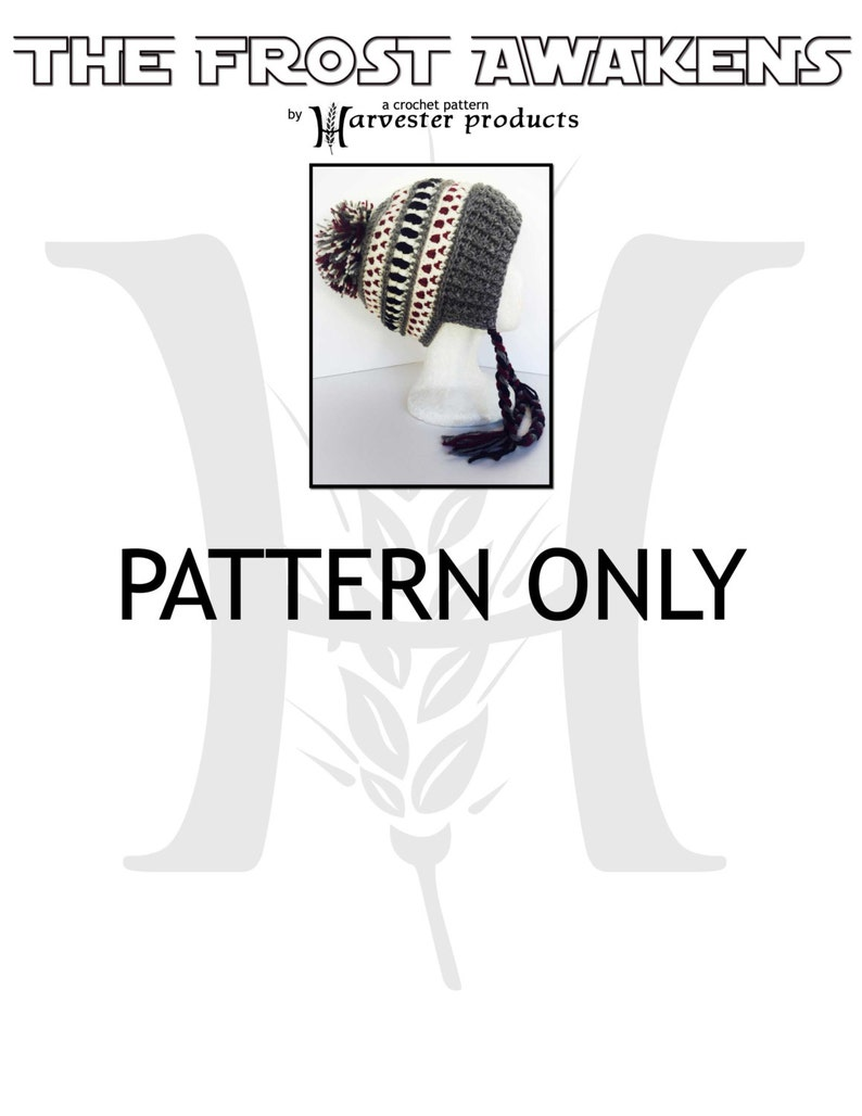 The Frost Awakens Textured Earflap Hat with Braids and Pom-Pom image 0
