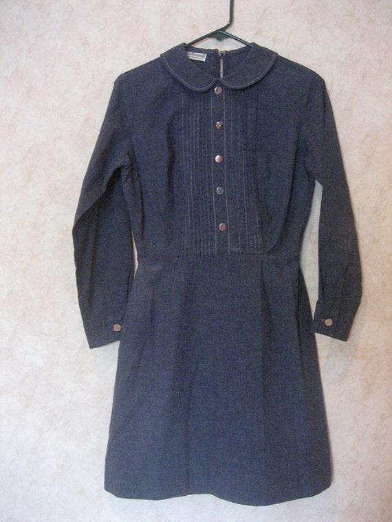 1960s Perfect Peter Pan Collar Dress