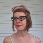 Vintage Pink Bow Hat Soft